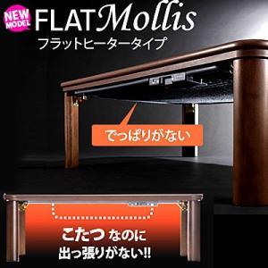 フラットヒーター搭載こたつ 〔フラットモリス〕 75x75cm 継ぎ足/平面パネルヒーター|shop-kyoto