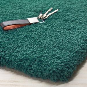 遊び毛が出にくいマイクロファイバー・シャギーラグ 200x200cmホットカーペットカバー対応|shop-kyoto