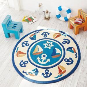 「アウトレット」子供部屋にお奨めのラグカーペット TOR-3278 150x150cm/円形ラグ/リビングマット|shop-kyoto