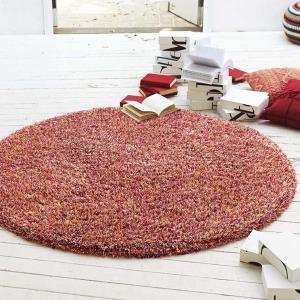 円形フックラグ マルチカラーシャギー TOR-3617(3401) 146x146cm 円形 shop-kyoto