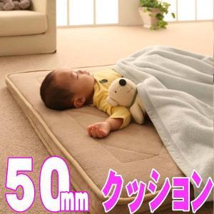 【厚さ50mm】極厚マイクロファイバークッションラグ 【TS-FAMIRE】ファミレ 約190x190cm|shop-kyoto