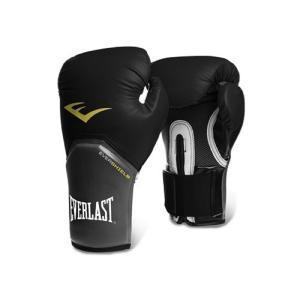 Everlast エバーラスト プロスタイルエリート練習用ボクシンググローブ8oz ブラック 並行輸入品