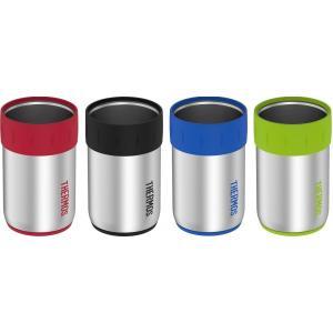 サーモス ジャストフィット缶クーラー 4個セット マルチカラー 350ml缶がジャストフィット 並行...
