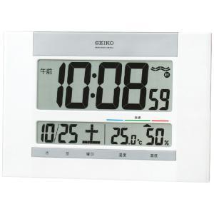 セイコー 温湿度計付掛置兼用電波時計[A4]|shop-magooch