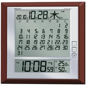 セイコー マンスリーカレンダー機能搭載掛置兼用電波時計[A3]|shop-magooch
