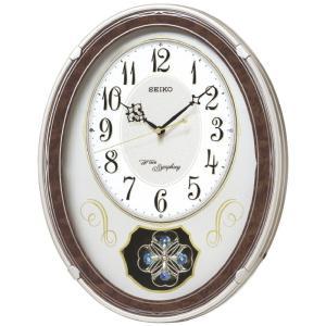 セイコー 正時メロディ電波掛時計[大型商品につき包装不可]|shop-magooch