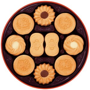 ■セット内容 ハローキティリボンバタークッキー12枚・ハローキティバタークッキー24枚・トルテバター...