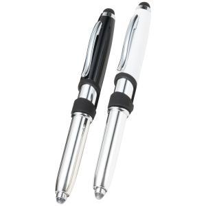 スマホに便利なライト付タッチボールペン [熨斗包装対象外]ギフト お祝い 贈答品 内祝い 防災 備え 防災の日 備蓄 防災用品|shop-magooch