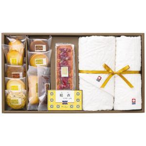 プレミアムパウンドケーキ・焼菓子&今治オーガニックコットンタオル CPT-50A<名入れ商品>[A3] ギフト ギフトセット お祝い 贈答品 内祝|shop-magooch