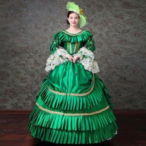 ロングドレス 演奏会 ドレス 大人 ピアノ 発表会 貴族 演奏会 袖あり 大きいサイズ お姫様 カラードレス ステージ 衣装 舞台 演奏会 ステージドレス shop-manten