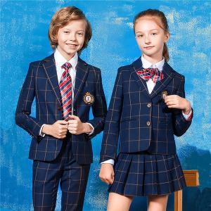 4点セット 卒業式 スーツ 入学式 スーツ ジュニアスーツ 制服 チェック柄 キッズ 卒業式服 女の子 男の子 子供スーツ 小学生 中学生|shop-manten