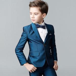 フォーマル スーツ スーツ 男の子 入学式 子供服 卒業式 キッズ パジャマ1つボタンベーシックスーツ4点セット 七五三 卒園式|shop-manten