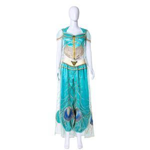 ジャスミン アラジン 姫様 孔雀風 豪華 衣装 コスプレ用衣装 コスプレ コスプレ衣装 コスチューム 高級 cosplay