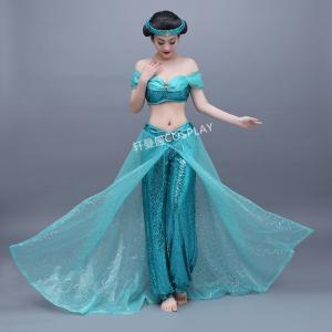a1fc6972c アラジン ジャスミン コスプレ衣装 コスチューム アラビアン cosplay costume イベント パーティー 文化祭/ハロウイーン衣装 仮装 変装
