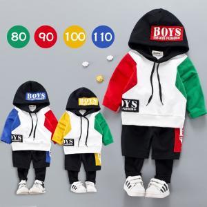 韓国 子供服セット ベビー服セット パーカーセット 上下セット トップス パンツ 男の子 女の子 キッズダンス 春秋 旅行 お出掛け|shop-momo