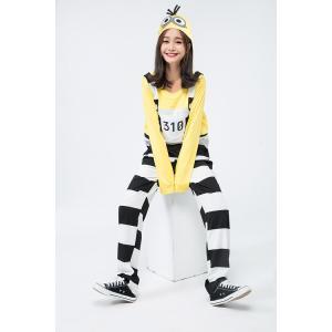 囚人ミニオン レディース 女性 怪盗グルーのミ...の詳細画像3