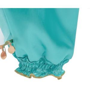 ハロウィン 衣装 プリンセスドレス ブルー コスチューム インディアン ジャスミン姫 子供用 アラブ 中東|なりきりワンピース コスプレ 余興 仮装|shop-momo|05