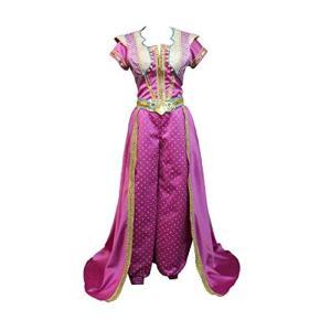 ジャスミン アラジン 新版 紫 衣装 コスプレ用衣装 コスプレ コスプレ衣装 コスチューム 高級 cosplay