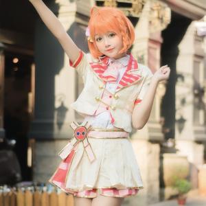 lovelive ラブライブ All stars 紅組 風 打歌服 風 コスプレ衣装 cosplay コスプレ コスチューム 仮装 コスチューム Cosplay|shop-momo