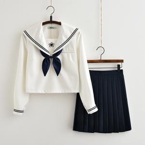 セーラー服 女子高生 セットアップ スクール制服 女子制服 フリルスカート スクール制服 JK制服 スクールウエア コスプレ衣装 結婚式 卒業式 入学式|shop-momo