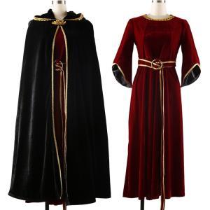 塔の上のラプンツェル マザー・魔女ゴーテル フルセット 原作版 コスプレ衣装 コスチューム|shop-momo