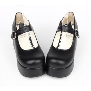 ロリータ 靴  ロリータ  ジーンズ rolita  靴 厚底 可愛い お嬢様 お姫様風 女性 ガールズ おしゃれ メード ファッション|shop-momo