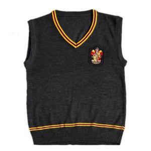 ハリーポッター Harry Potter グリフィンドール Gryffindor チョッキ スクールベスト セーター コスプレ衣装 cosplay 高品質|shop-momo