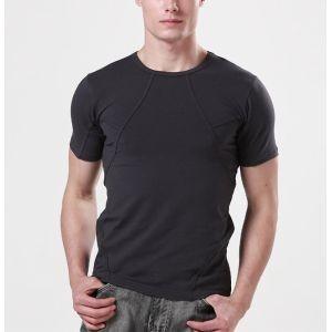 バイオハザード Resident Evil レオン・S・ケネディ Tシャツ ダークグレー 半袖 夏 トップス 無地 男性 メンズ|shop-momo