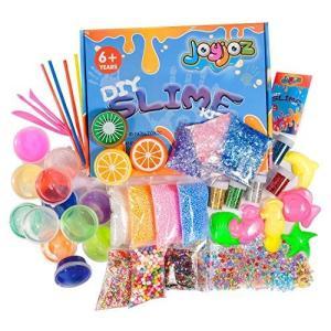 スライム slime kit フリースライム おもちゃ 手作りツール ストレス解消 ふわふわクリスタル粘土 一緒に遊ぼう|shop-n