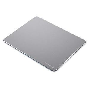 強いアルミニウム構造で丈夫・長持ち、安定感。 広い表面(24 x 19 x 0.5 cm)でマウスを...