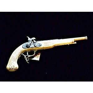 ピストル フリントロック式 古式銃 ゴールドバレル 1109be スペイン製 レプリカ|shop-nayuta