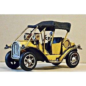 アンティーク調 レトロなブリキのおもちゃ クラシックカー ブリキ カー z shop-nayuta