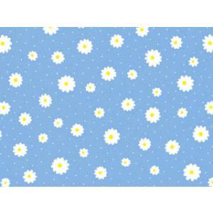 包装紙プリエールプリエールブルー・白リボン付き|shop-nico2