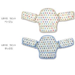 抱っこひも よだれカバー 首かっくん防止ヘッドサポート【バディバディ】日本製 よだれパッド ダブルガーゼ スナップボタン だっこひも用 ヘッドサポート shop-nico2 02
