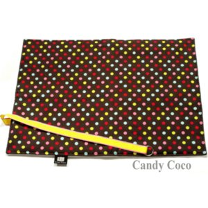 おむつ替えシート おむつ替えマット ブラウンマーブルチョコドット|shop-nico2|02