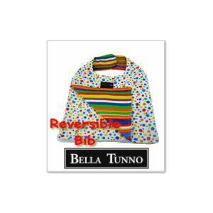ベビー スタイ/ベラトゥーノ・レインボースポット×レインボーストライプ|shop-nico2