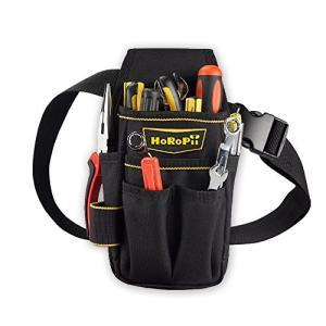 HoRoPii プロ職人 匠仕様 作業用 工具袋 腰袋 ウエストバッグ ベルト 付き 多様性バージョ...