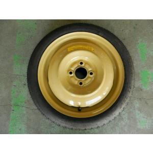 マツダ 純正 スペアタイヤ/応急タイヤ 125/70D15 窒素ガス充填 未使用品 DE系 デミオ