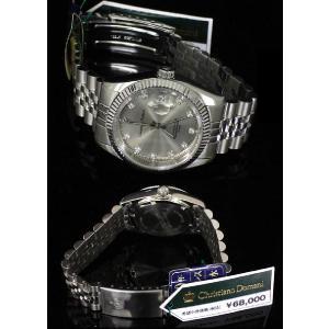 大人気♪デイトタイプ.クリスチャンドマーニ  メンズ腕時計 CD4070-3|shop-phoenix|02