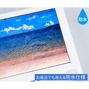 映りが違う!最新高性能チューナー搭載フルセグ 13.型 防水ポータブル液晶テレビ!海に釣りにアウトドアでフルセグTV&DVD  shop-phoenix 02