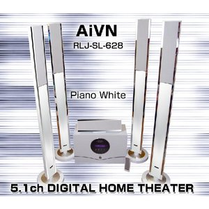 5.1ch サラウンド ホームシアターシステム /RLJ-SL-628 ◆ドルビーデジタル・プロロジックll/DTS対応|shop-phoenix