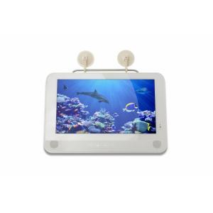 映りが違う!最新高性能チューナー搭載 フルセグ13型 防水ポータブル液晶テレビ!海に釣りにアウトドアでフルセグTV&DVD新型|shop-phoenix|05