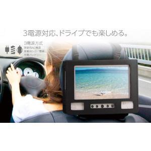 車載バッグ付 フルセグ応防水9インチ ポータブルDVDプレイヤー  DL-M900WF|shop-phoenix