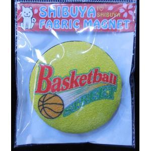 シブヤエンゼルハート オリジナルマグネット (バスケットボールストリート・イエロー)|shop-sah