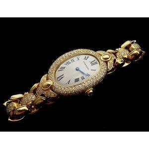 カルティエ Cartier K18YG ベニュワール ダイヤ入り WB5004GT|shop-sakae|02