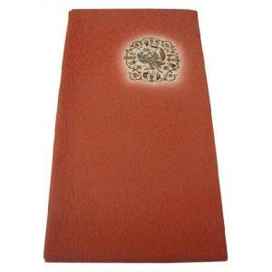 【正絹 袋帯】 S112 縮緬のふくれ織 鳳凰と更紗文 どこか洋風なおしゃれ袋帯 |shop-sakae
