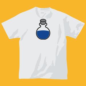 ポーションTシャツ回復!・ホワイト|shop-seed