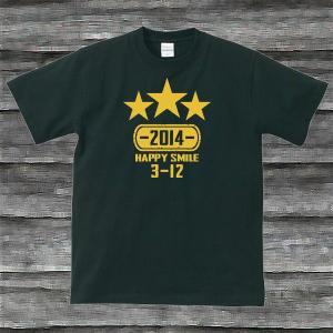 K'sお誕生日TシャツブラックTypeaPゴールド|shop-seed