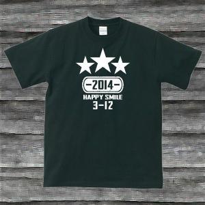 K'sお誕生日TシャツブラックTypeaPホワイト|shop-seed