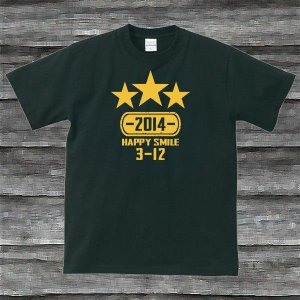 K'sお誕生日TシャツブラックTypeaPイエロー|shop-seed